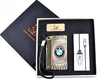 Зажигалка с ножом BMW (спираль накаливания, USB) №4757