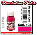 JVR Revolution Kolor, opaque magenta #104, 60ml, фото 2