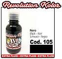 JVR Revolution Kolor, opaque black #105,50ml, фото 2