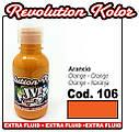 JVR Revolution Kolor, opaque orange #106, 10ml, фото 2