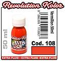 JVR Revolution Kolor, opaque vermillon #108,30ml, фото 2
