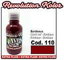 JVR Revolution Kolor, opaque claret red #110,10ml, фото 2