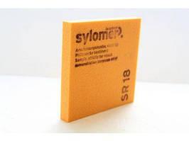 Sylomer SR 18 оранжевый Предельная статическая нагрузка 0.018 Н/мм2