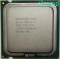 Intel Core 2 Duo E7500 (SLGTE, 3M Cache, 2.93 GHz, 1066 MHz FSB)
