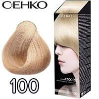 C:EHKO Крем-краска для волос C:Color в наборе Тон №100 шампань