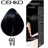C:EHKO Крем-краска для волос C:Color в наборе Тон №11 голубая ночь