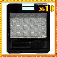 Тени одинарные серые светлые матовые компактные,  MEIS MS-6101 - Тон 10