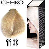 C:EHKO Крем-краска для волос C:Color в наборе Тон №110 платиновый блондин