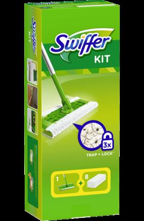 """Swiffer Bodenstab S.Set+8Tücher - набор для уборки пыли на полу, 1 шт - Интернет-магазин """"Altro"""" в Ужгороде"""