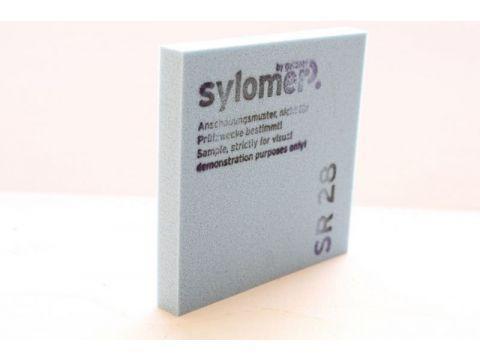 Sylomer SR 28 синий Предельная статическая нагрузка 0.028 Н/мм2
