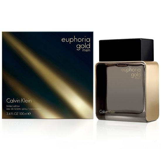 Calvin Klein Euphoria Gold Men Limited Edition туалетная вода 100 ml. (Кельвин Кляйн Эйфория Голд Мен Лимитед)