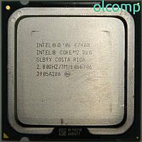 Intel Core 2 Duo E7400 (SLB9Y, 3M Cache, 2.80 GHz, 1066 MHz FSB)