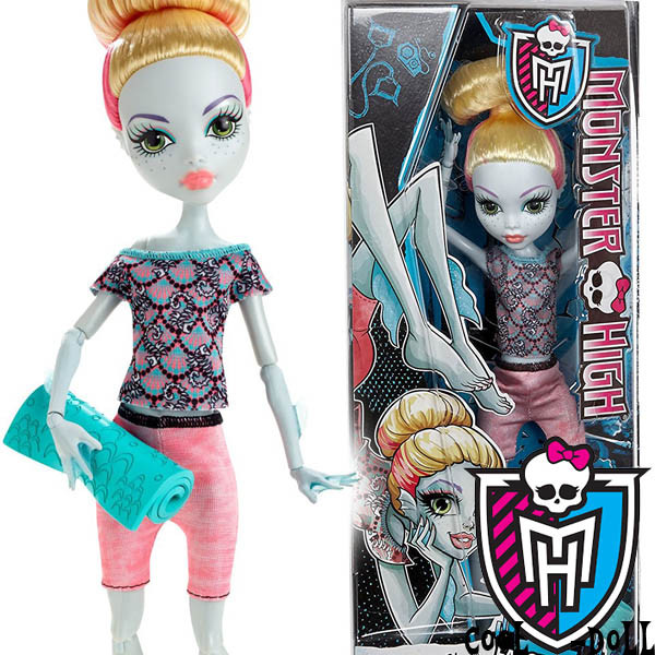 Кукла Monster High Фантастический фитнес Лагуна Fangtastic Fitness Lagoona Blue