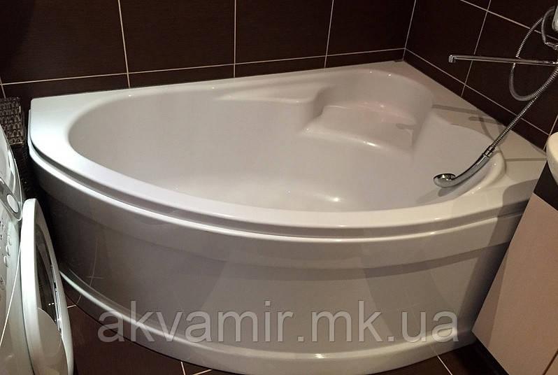 Ванна асиметрична Cersanit Kaliope 153х100 права з ніжками