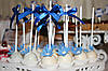 Свадебный Кенди бар Candy Bar в бело-синих тонах, фото 6