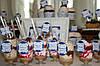 Свадебный Кенди бар Candy Bar в бело-синих тонах, фото 7