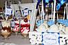 Свадебный Кенди бар Candy Bar в бело-синих тонах, фото 8