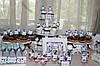 Свадебный Кенди бар Candy Bar в бело-синих тонах, фото 3