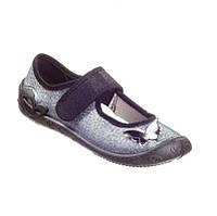 Детские текстильные туфли для девочки MB Польша р. 26 - 16,7см, фото 1
