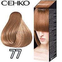 C:EHKO Крем-краска для волос C:Color в наборе Тон №77 кофе со сливками