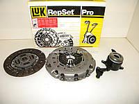 Комплект сцепления (с выжимным подшипником) на Мерседес Спринтер 2.2/2.7 CDI 03-06 LuK (Германия) 624318233