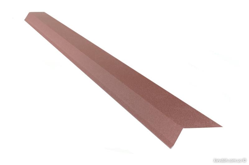 Планка карнизна (капельник) для бітумної черепиці 2м
