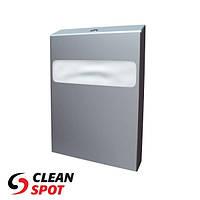 Держатель туалетных накладок на крышку унитаза 1/4 сложения металлический матовый