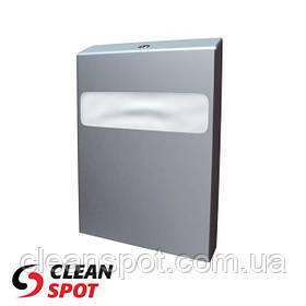Тримач туалетного накладок на кришку унітазу 1/4 складання металевий матовий