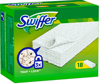 Swiffer Bodentücher trocken Nachfüllpack - салфетки для пола, 18 шт