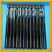 Карандаш темно - коричневый косметический выкручивающийся (в наборе 12 шт.) Упаковкой