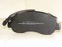 Тормозные колодки передние на Рено Мастер III (c 2010 г.в.) TOMEX (Польша) 16-40