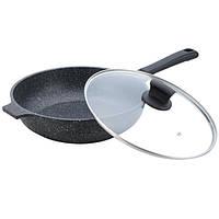 Сковорода-сотейник Maestro гранит 28 см индукционная