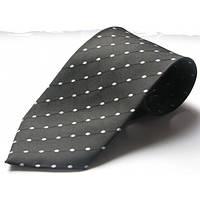 Черный шелковый стандартный галстук Schönau - 130