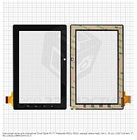 "Сенсор,тачскрин Freelander PD10, PD20, черный, тип 1, 30 pin, (183*114 мм), 7"", C11382A1/DRFPC045T-V1.0"