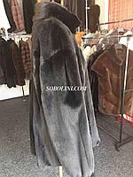 Мужская куртка из норки, цвет натуральный black, 50-52 размер в наличии