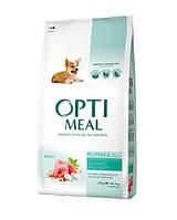 Сухой корм для щенков всех пород OPTIMEAL - индейка, 12 кг