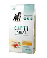 Сухой корм для собак больших пород OPTIMEAL - курица, 12 кг