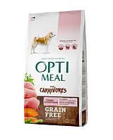 Беззерновой сухой корм для собак всех пород OPTIMEAL - индейка и овощи, 10 кг