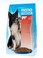 Сухой корм для собак RENO с говядиной 10 кг