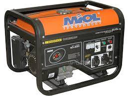 Бензиновый Генератор Miol 83-200, 4-тактный, 2,5/2,8 кВт,