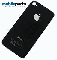 Кришка (back cover) для Apple iPhone 4GS 8/16/32/64Gb High Copy (Черный)