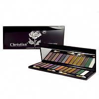 Цветная палитра теней из 14 цветов