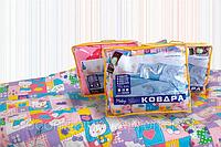 Одеяло двуспальное в упаковке (Бязь(Gold Силикон))  220*200 см