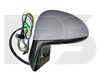 Зеркало правое электро с обогревом грунт без датчика температуры без указателя поворота C4 2005-10