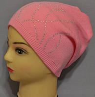 """Купить шапочки для девочек """"Надя"""" аппликация."""