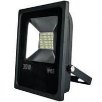 Светодиодный прожектор LEDEX 30W SMD SLIM 2400Lm IP65 6000K белый холодный, Standart, фото 1