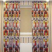 Готовый комплект штор 4х2,5 м New York шифон