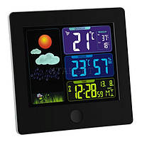Метеостанция TFA Sun, цветной ЖК-дисплей, 120х25х120 мм, чёрный