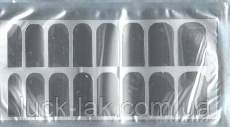 Термоплівка фольга срібло для нігтів термо фольга