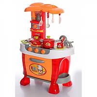 """Игровой набор для сюжетно-ролевой игры """"Кухня"""" с плитой оранжевый"""